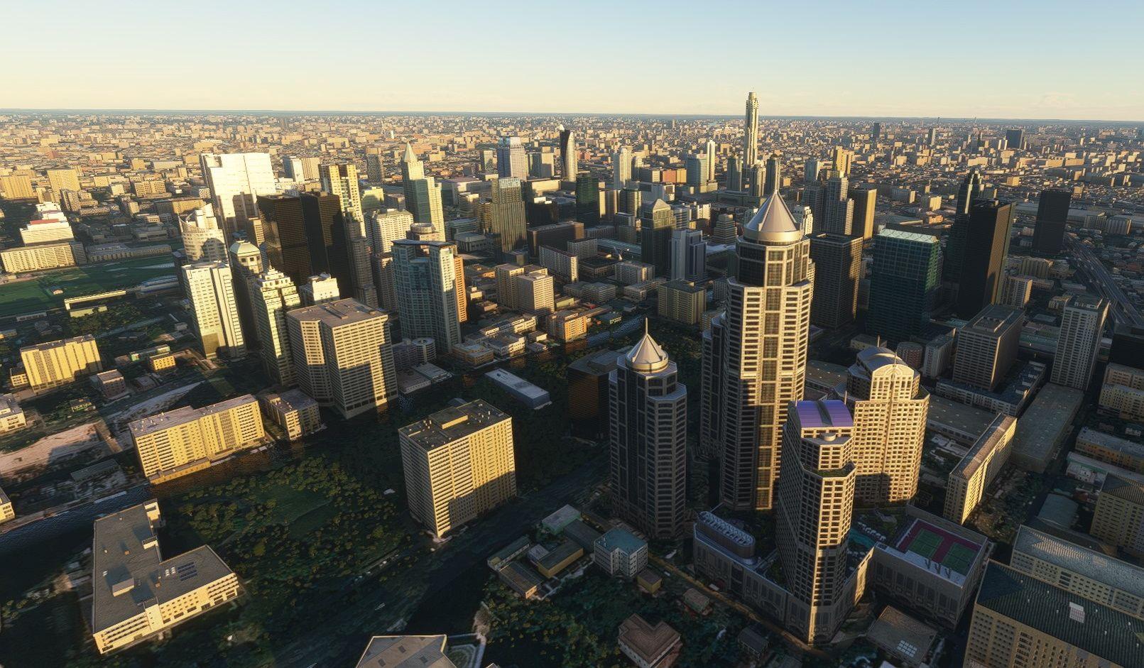 MSFS Bangkok Landmarks