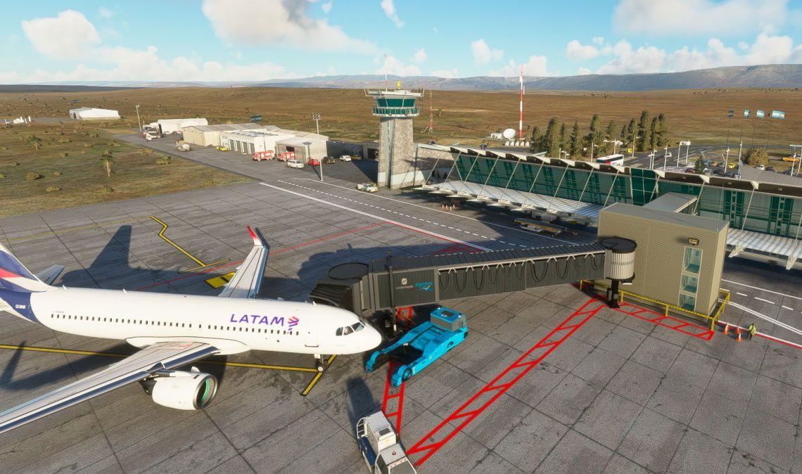 MSFS SAWC Aeropuerto Internacional de El Calafate