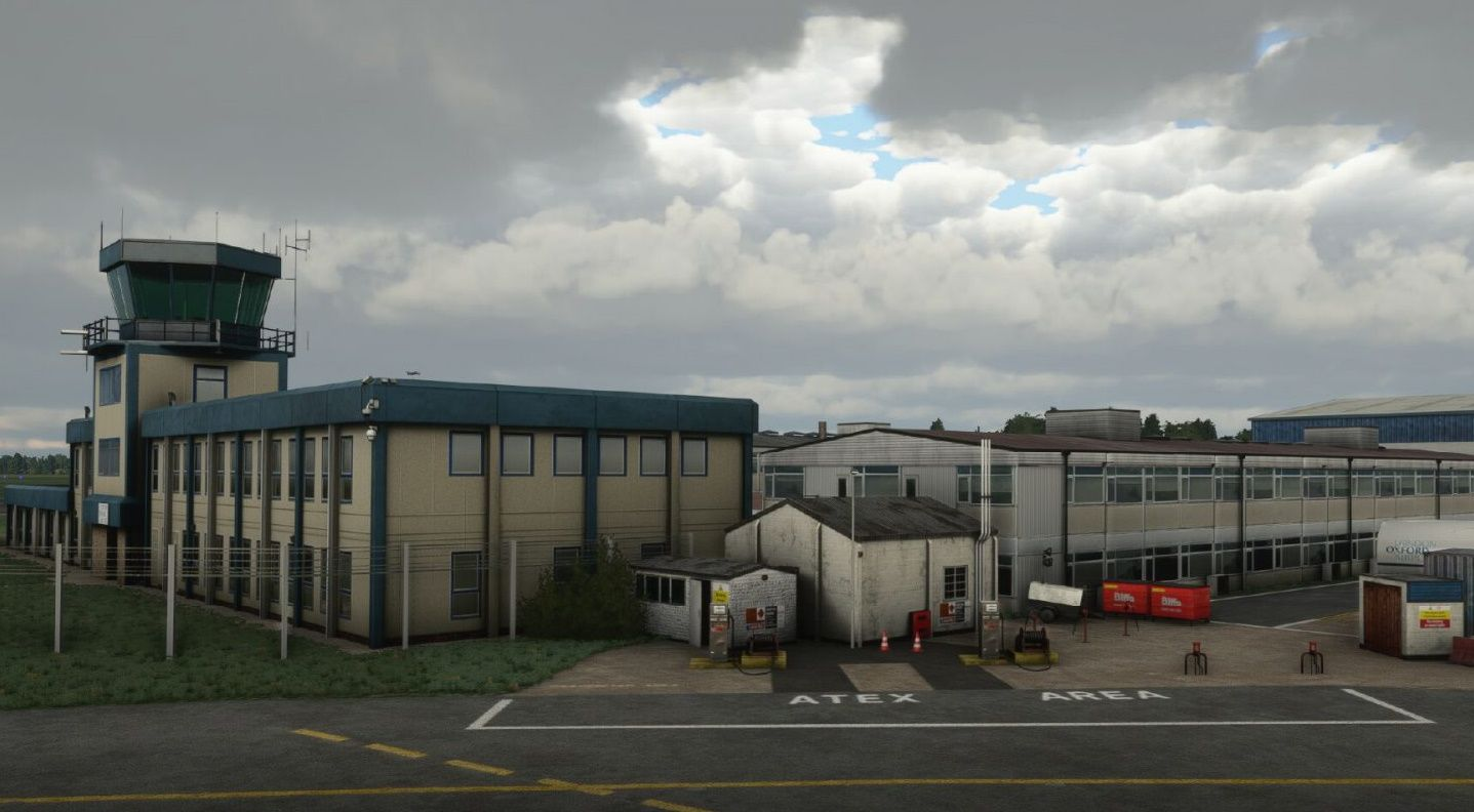 MSFS EGTK London Oxford Airport
