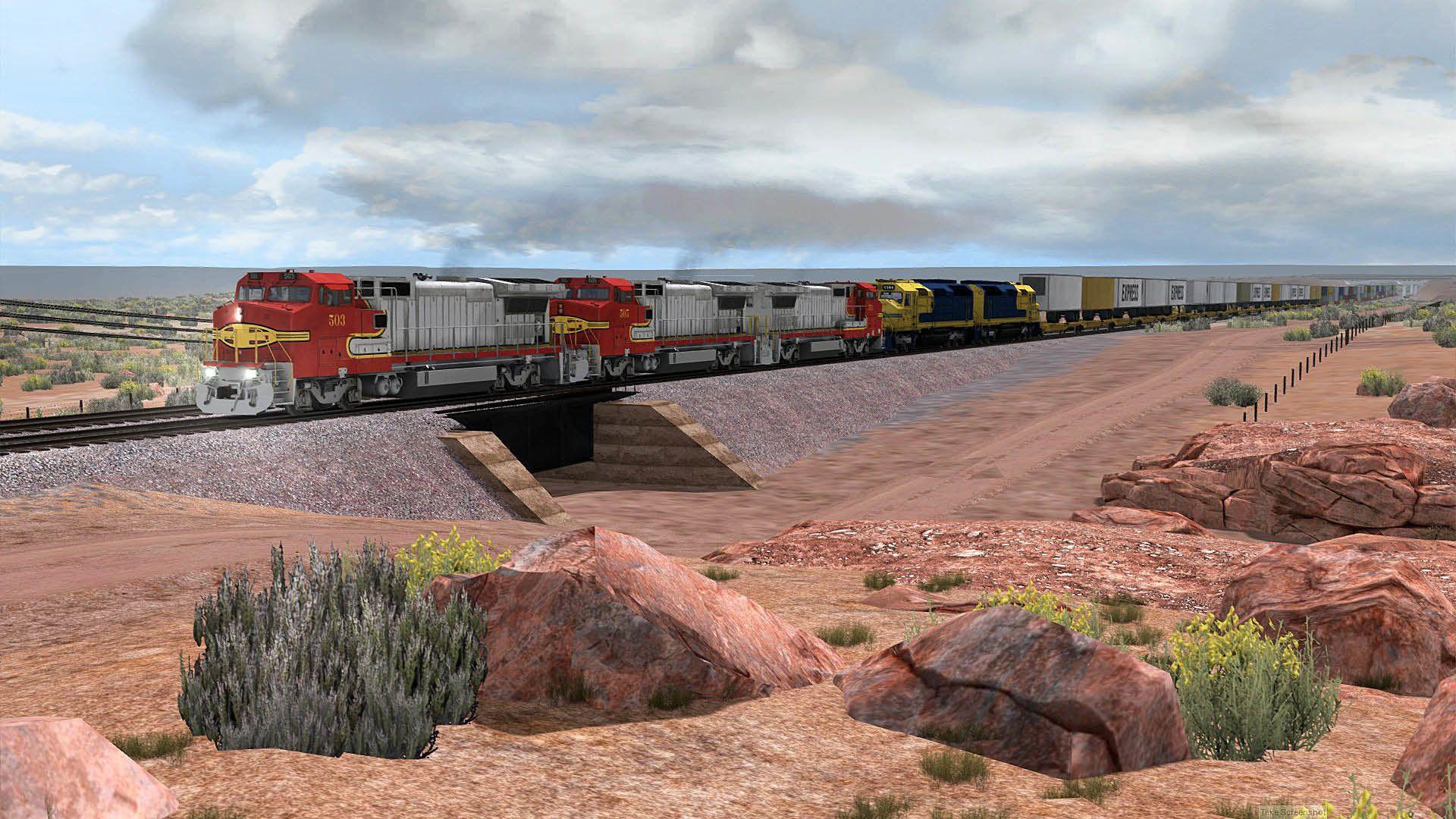 Train Simulator Arizona Divide