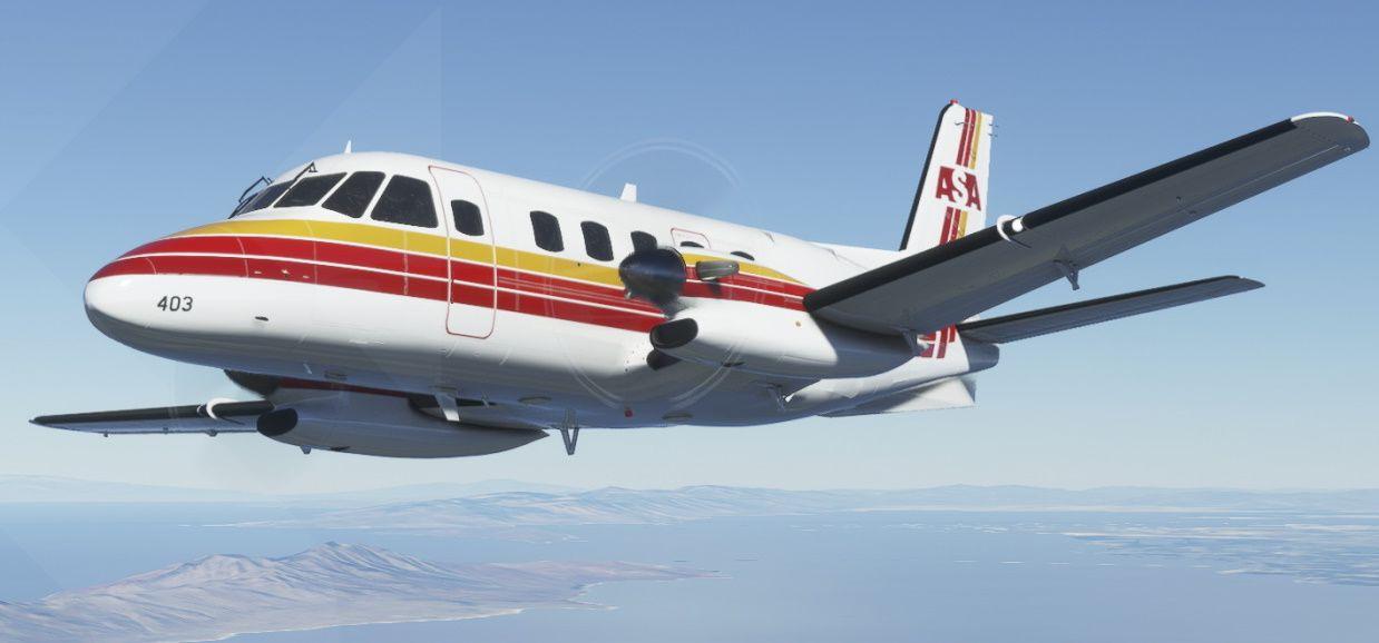 MSFS Embraer EMB 110 Bandeirante