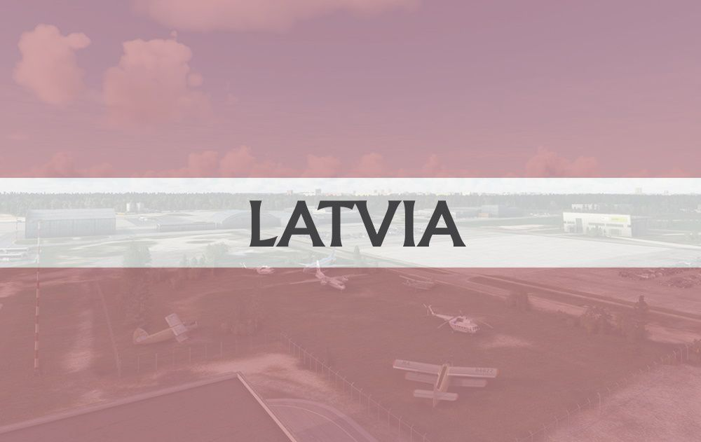 MSFS Latvia Airports
