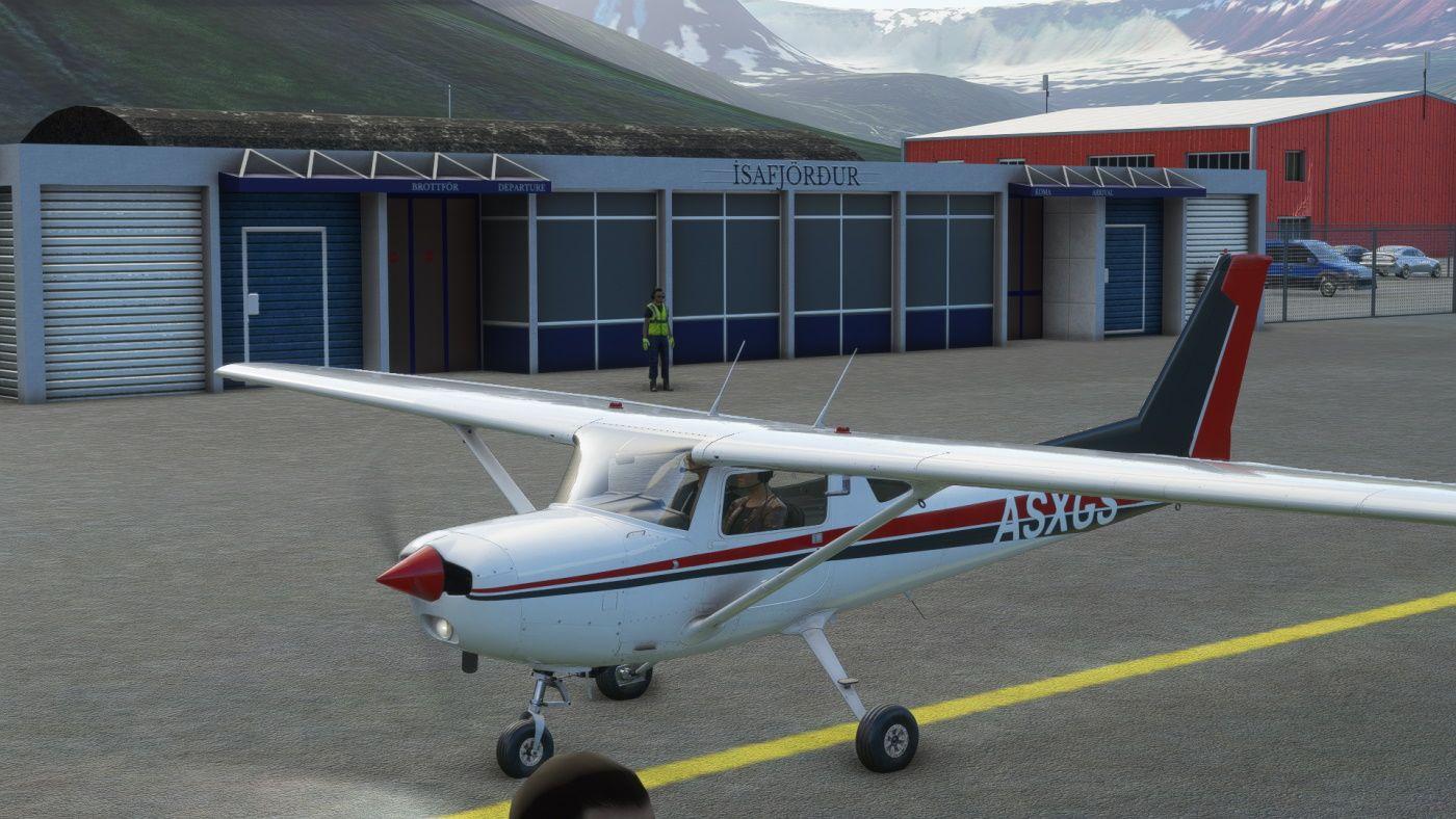 MSFS BIIS Ísafjörður Airport