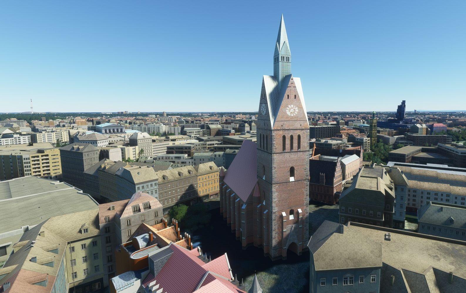 MSFS Hannover Landmarks