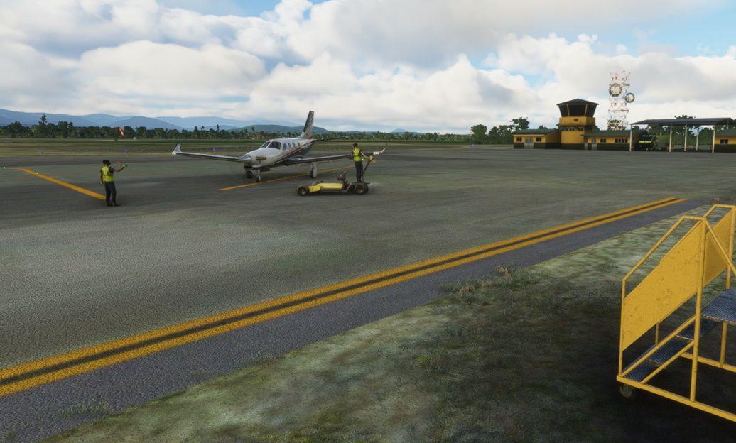 MSFS SKLM La Mina Airport