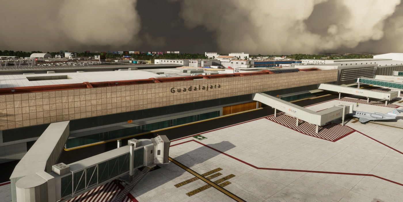 MSFS MMGL Guadalajara International Airport