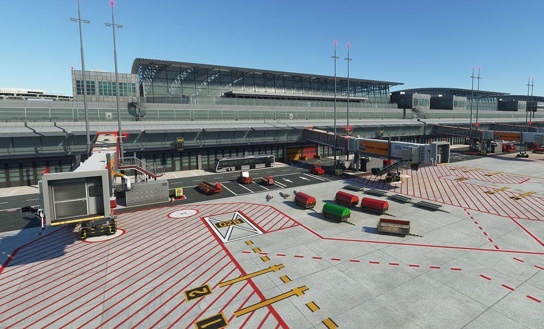 MSFS EDDH Hamburg Airport