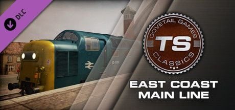 Clickable image taking you to the DPSimulation page for the East Coast Main Line Route Add-On DLC for Train Simulator