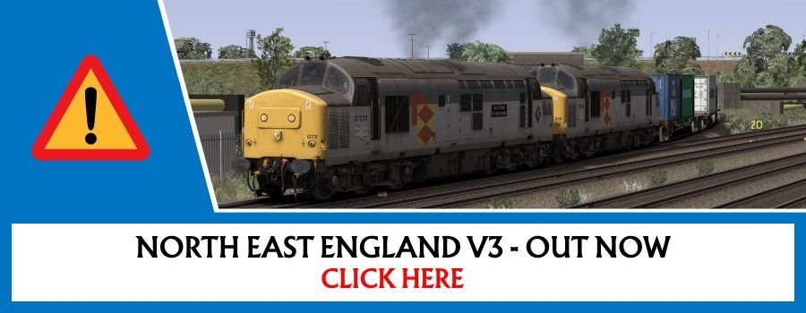 Clickable image taking you to the route page for North East England V3