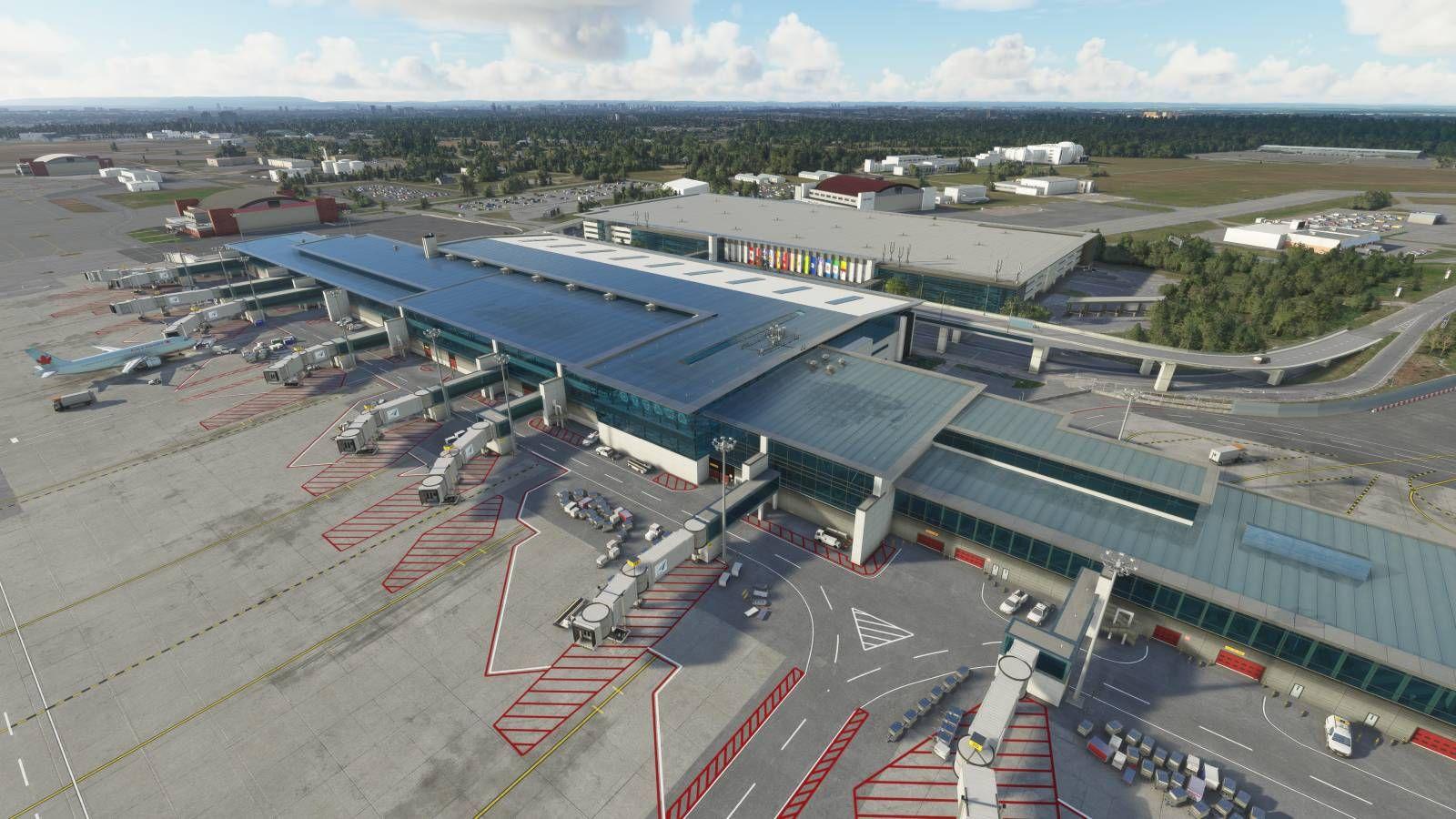 MSFS CYOW Ottawa Macdonald–Cartier International Airport