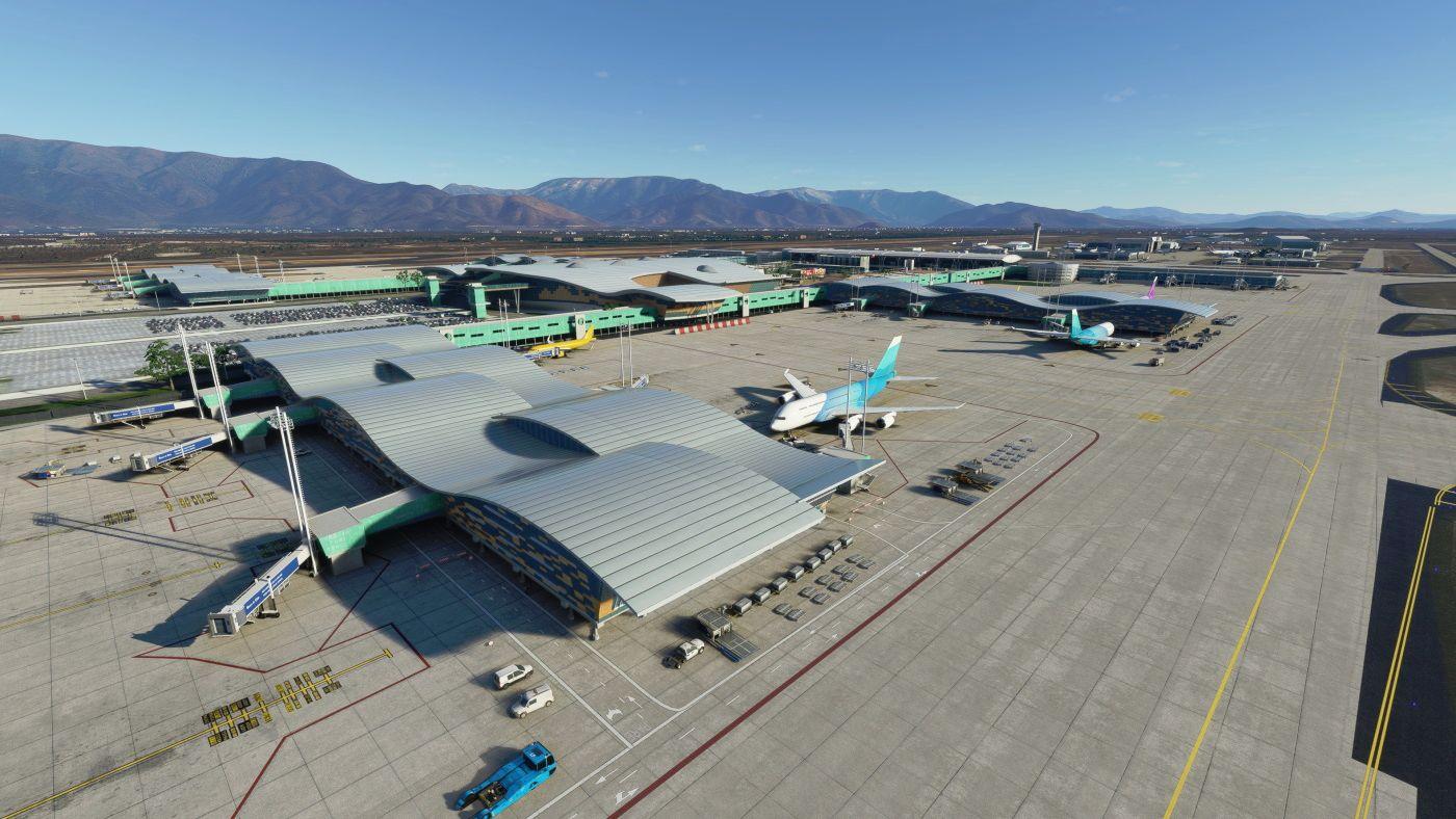 MSFS SCEL Santiago International Airport