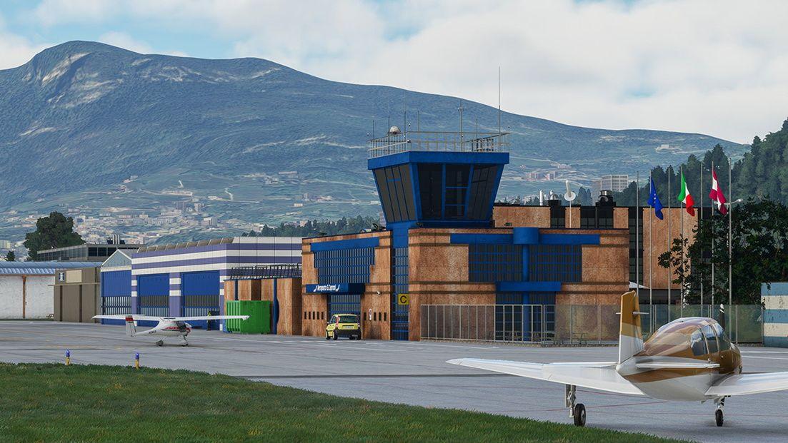 MSFS LIDT Trento-Mattarello Airport