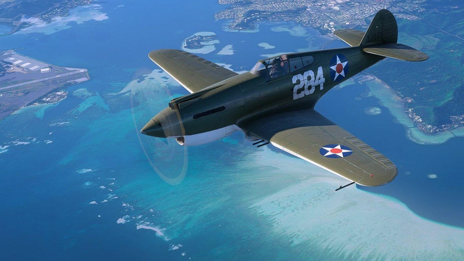 MSFS Curtiss P-40B Tomahawk