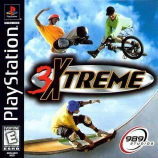 3Xtreme Playstation  Manual