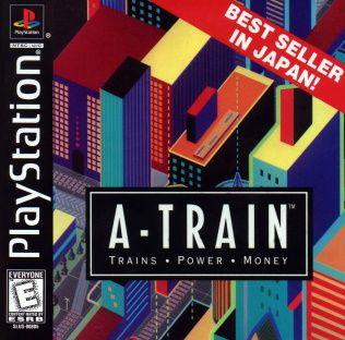 A-Train: Trains, Power, Money Playstation Manual