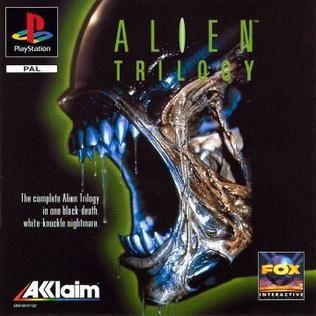 Alien Trilogy Playstation Manual