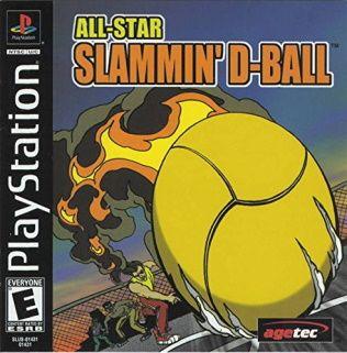 All-Star Slammin' D-Ball Playstation Manual