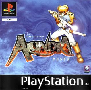 Alundra Playstation Manual