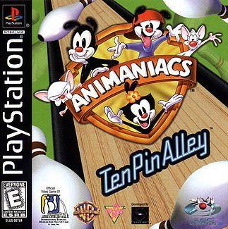 Animaniacs: Ten Pin Alley Playstation Manual