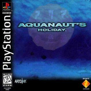 Aquanaut's Holiday Playstation Manual