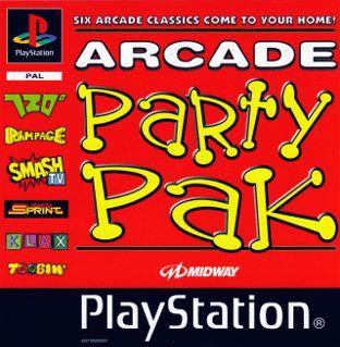 Arcade Party Pak Playstation Manual