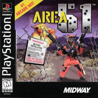 Area 51 Playstation Manual