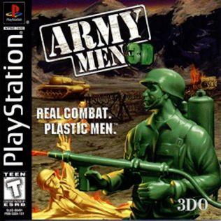 Army Men 3D Playstation Manual