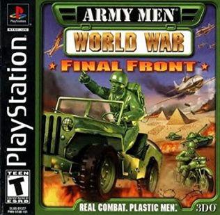 Army Men: World War - Final Front Playstation Manual