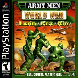 Army Men: World War - Land, Sea, Air Playstation Manual