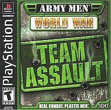 Army Men: World War - Team Assault Playstation Manual