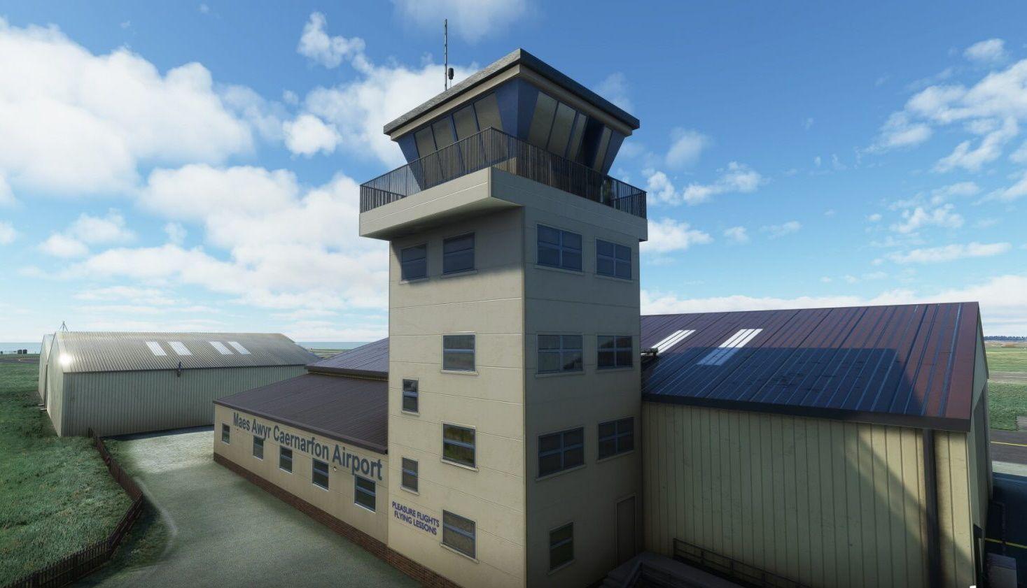 MSFS EGCK Caernarfon Airport