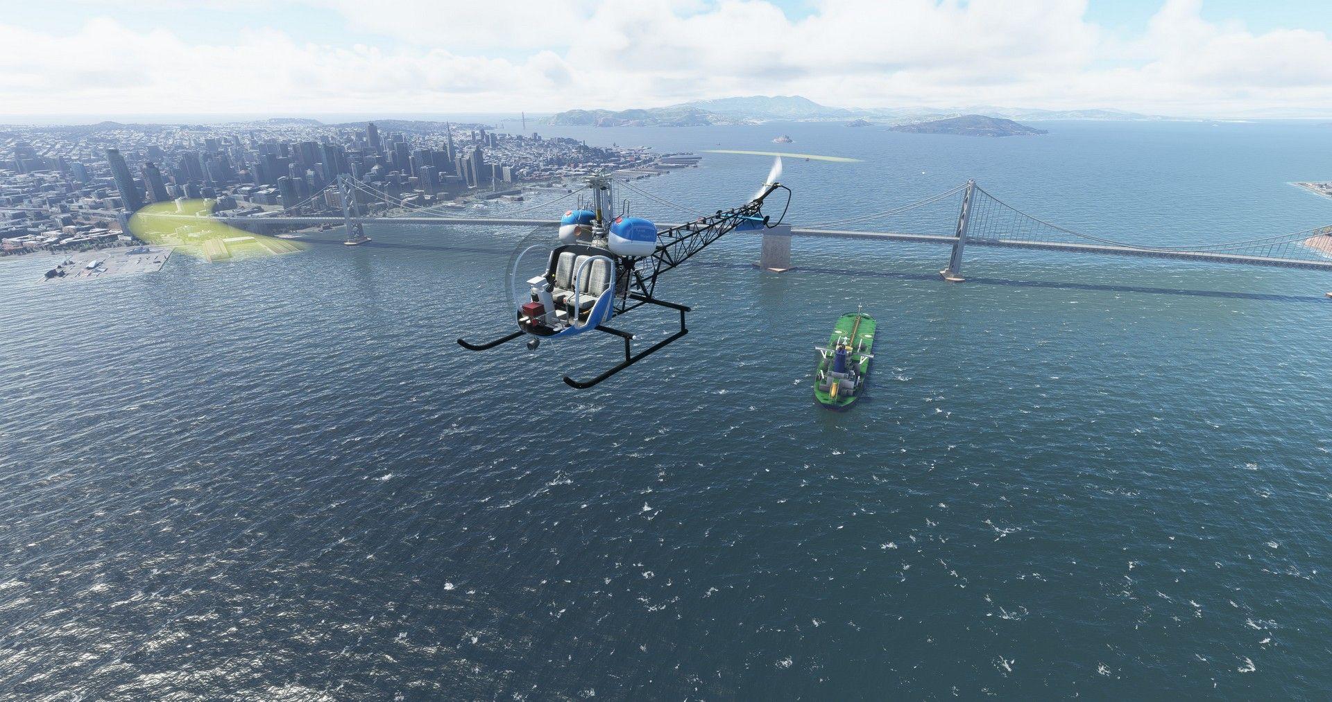 MSFS Bell 47