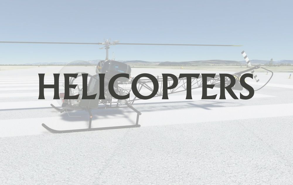 MSFS Helicopters