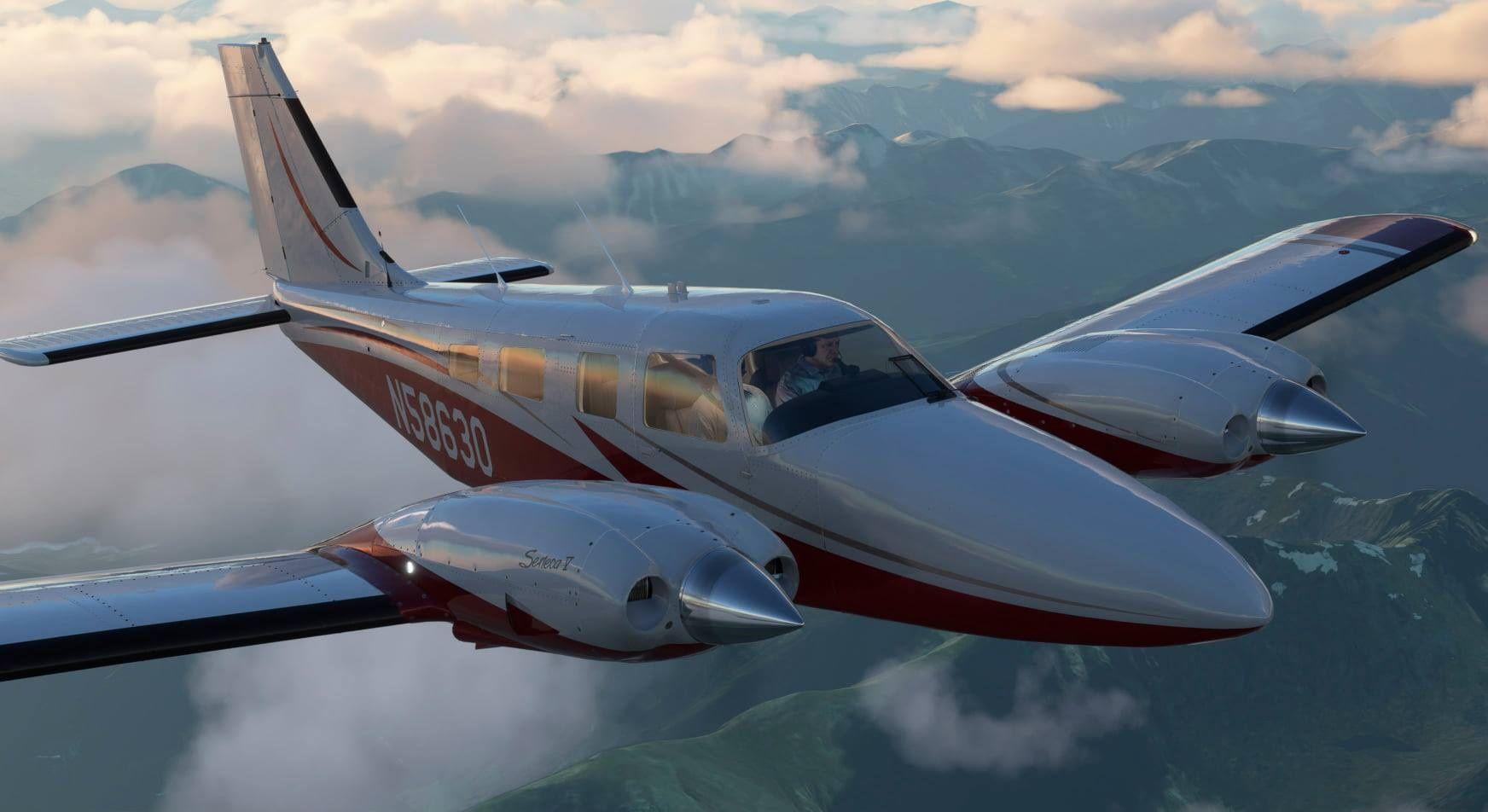 MSFS Piper PA-34 Seneca