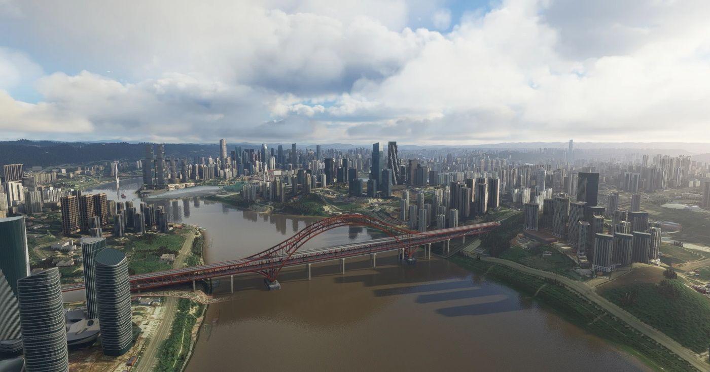 MSFS Chongqing Magic City 8D