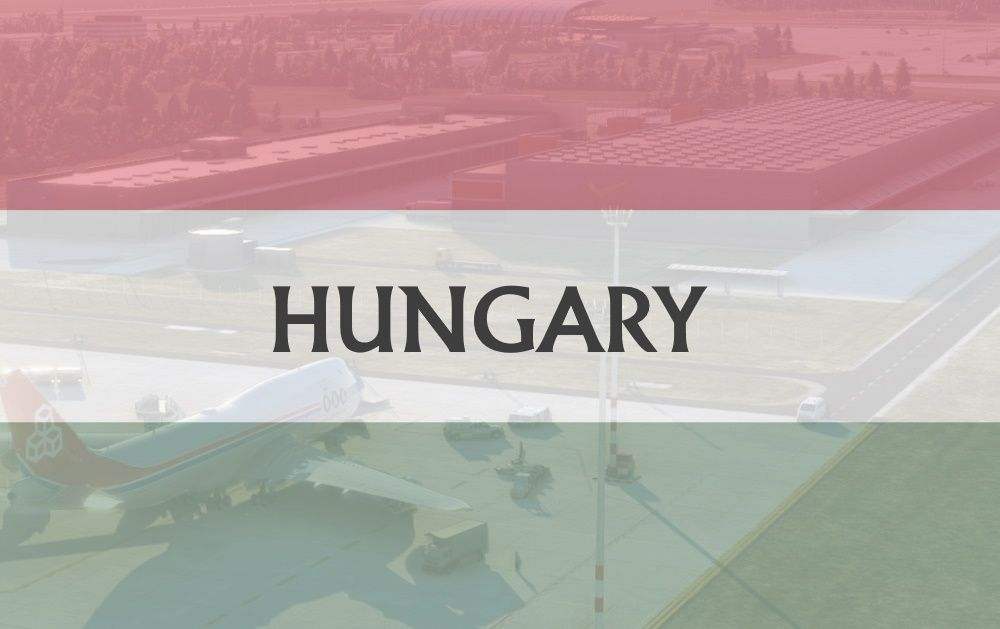 MSFS Hungary Airports