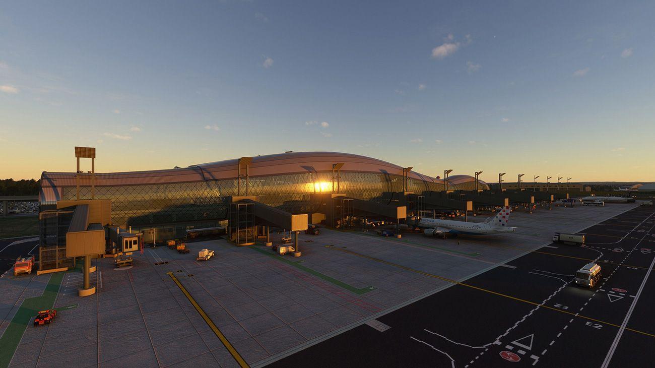 MSFS LDZA Zagreb Airport