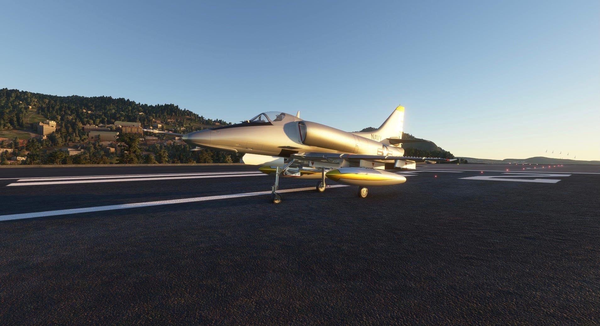 MSFS Douglas A-4 Skyhawk