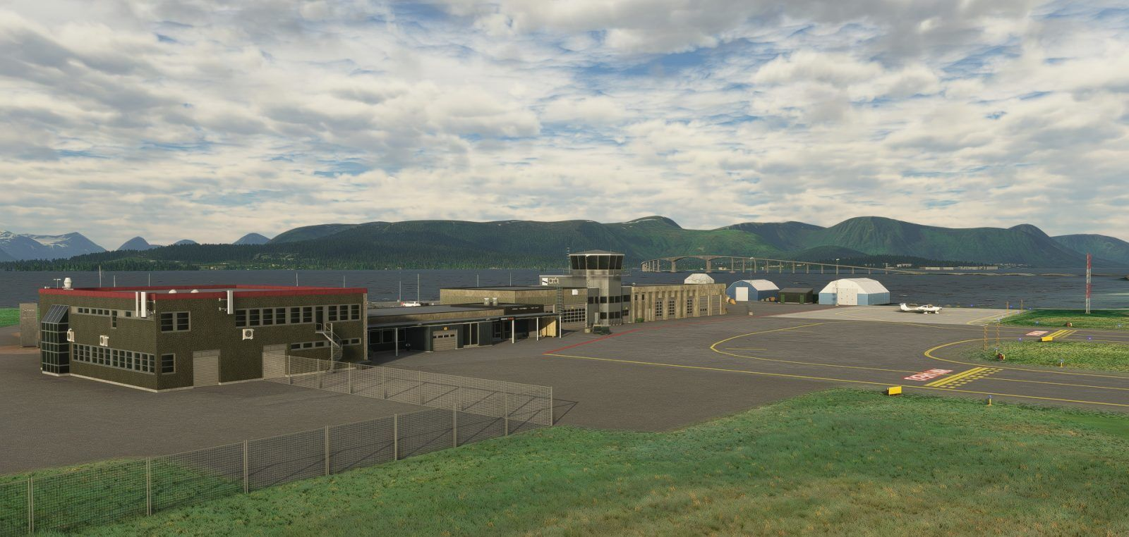 MSFS ENSK Stokmarknes Airport
