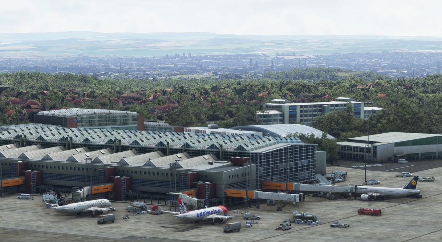 MSFS EDDC Dresden Airport