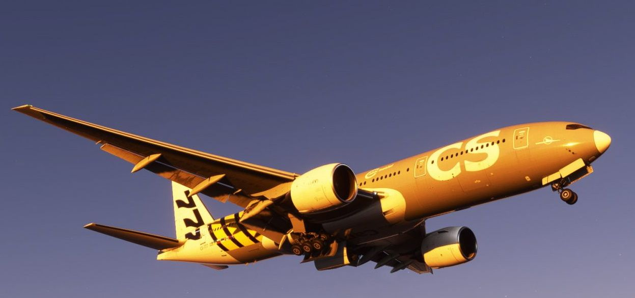 MSFS Boeing 777-200