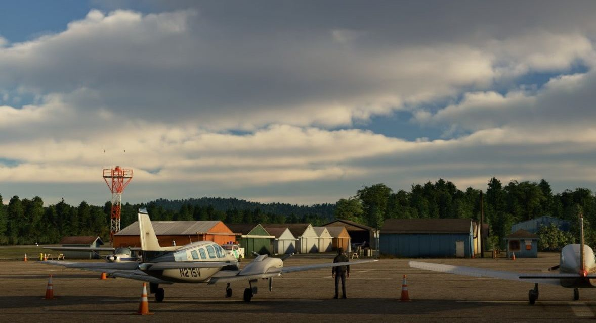 MSFS S45 Siletz Bay State Airport