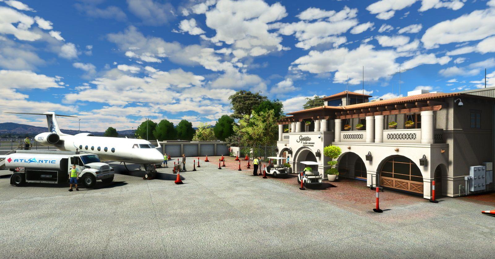 MSFS KVNY Van Nuys Airport