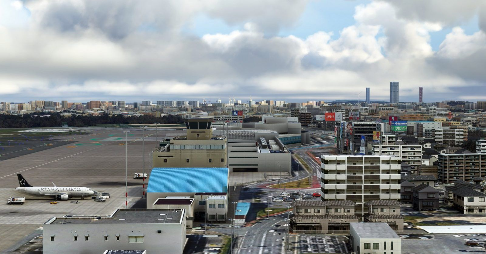 MSFS Fukuoka Wow