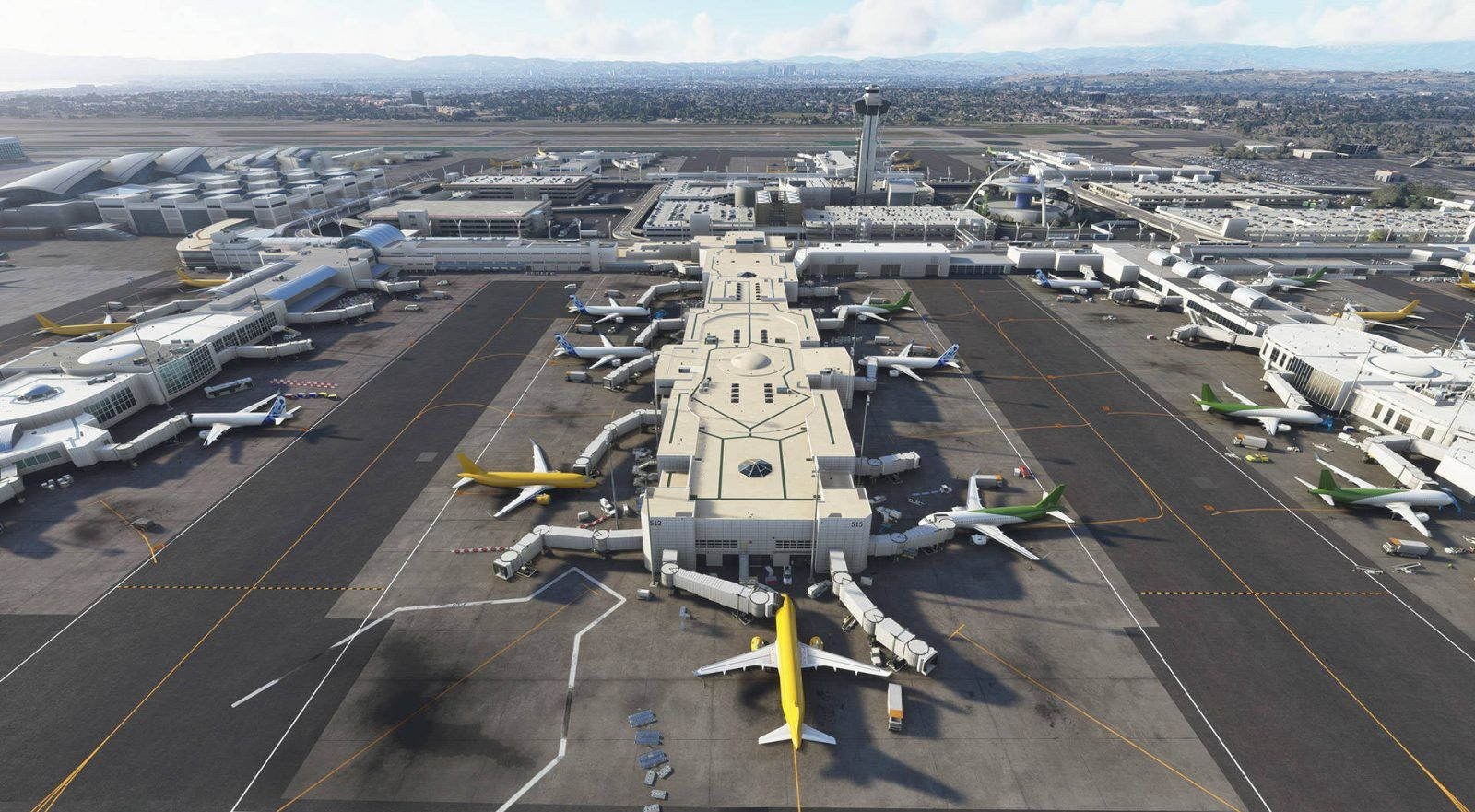 MSFS REX Real Global Airport Textures