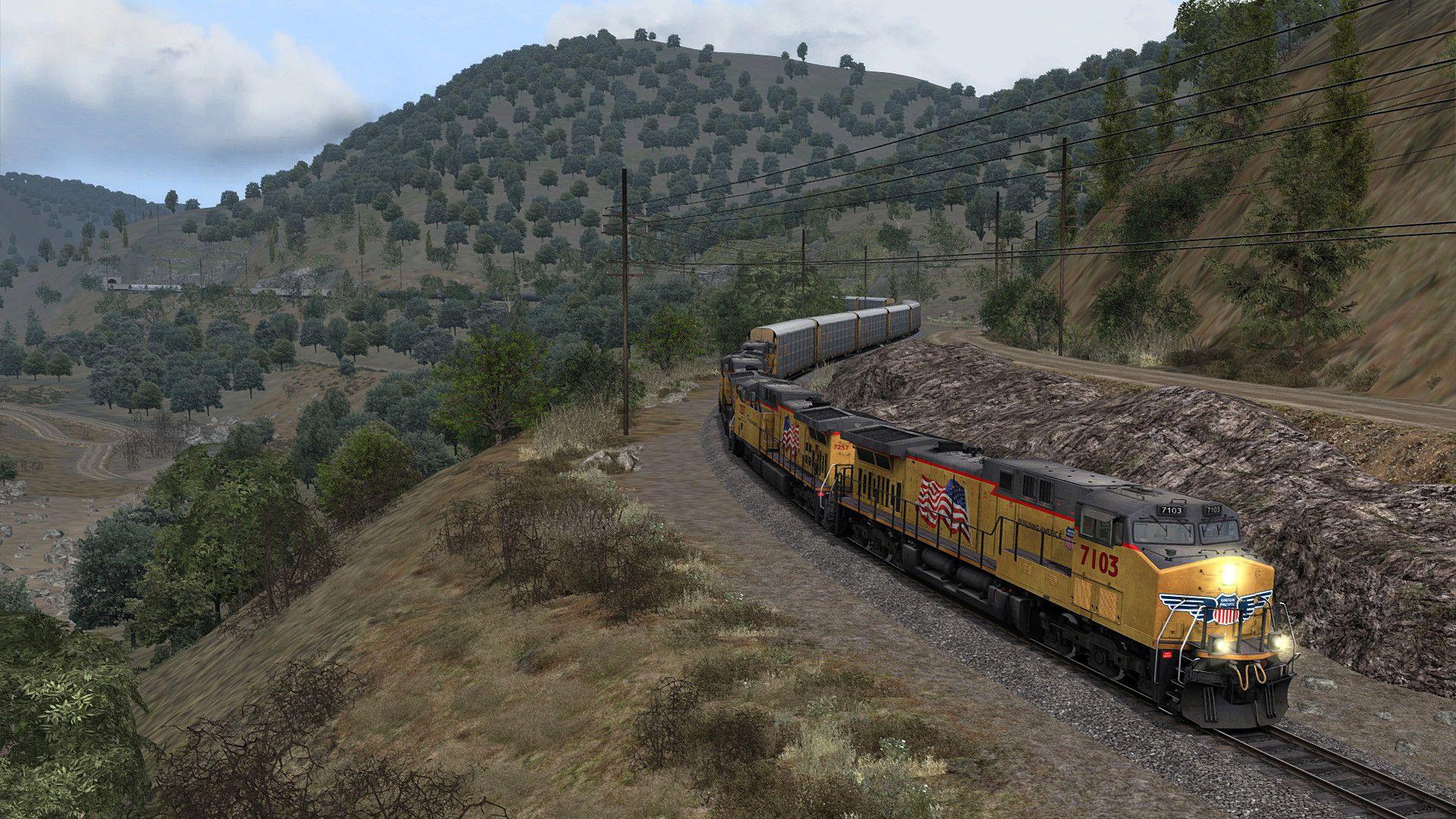 Train Simulator: Tehachapi Pass: Mojave - Bakersfield Route Add-On