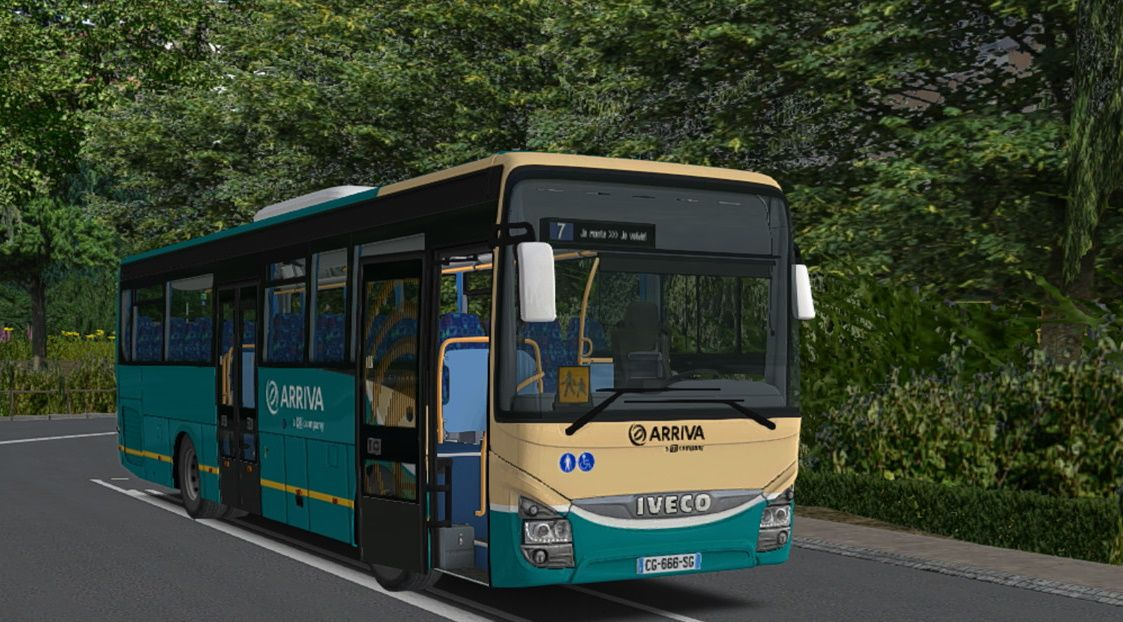 OMSI 2 Add-on IVECO Bus Family Interurban Generation