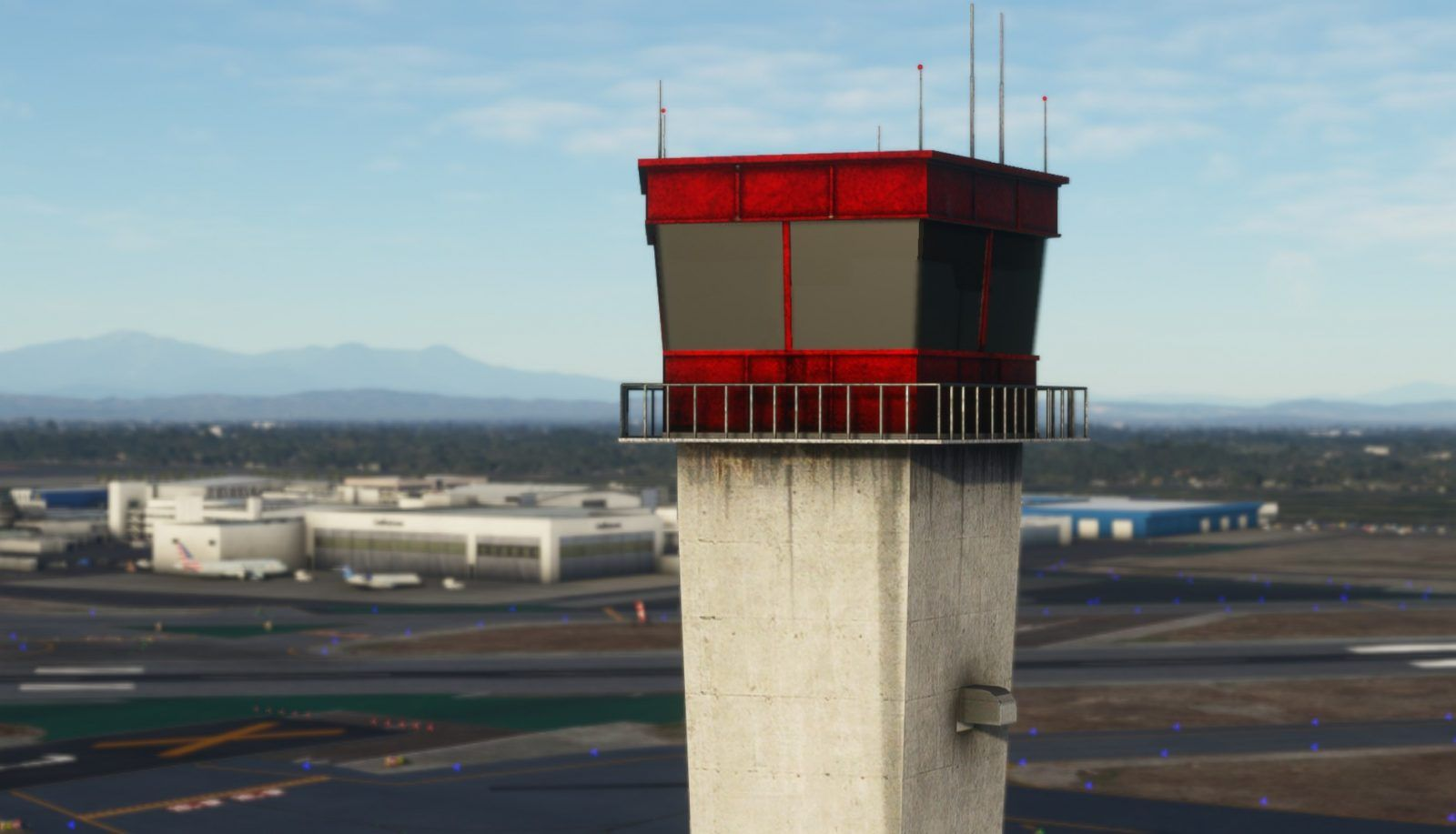 MSFS KLGB: Long Beach Airport
