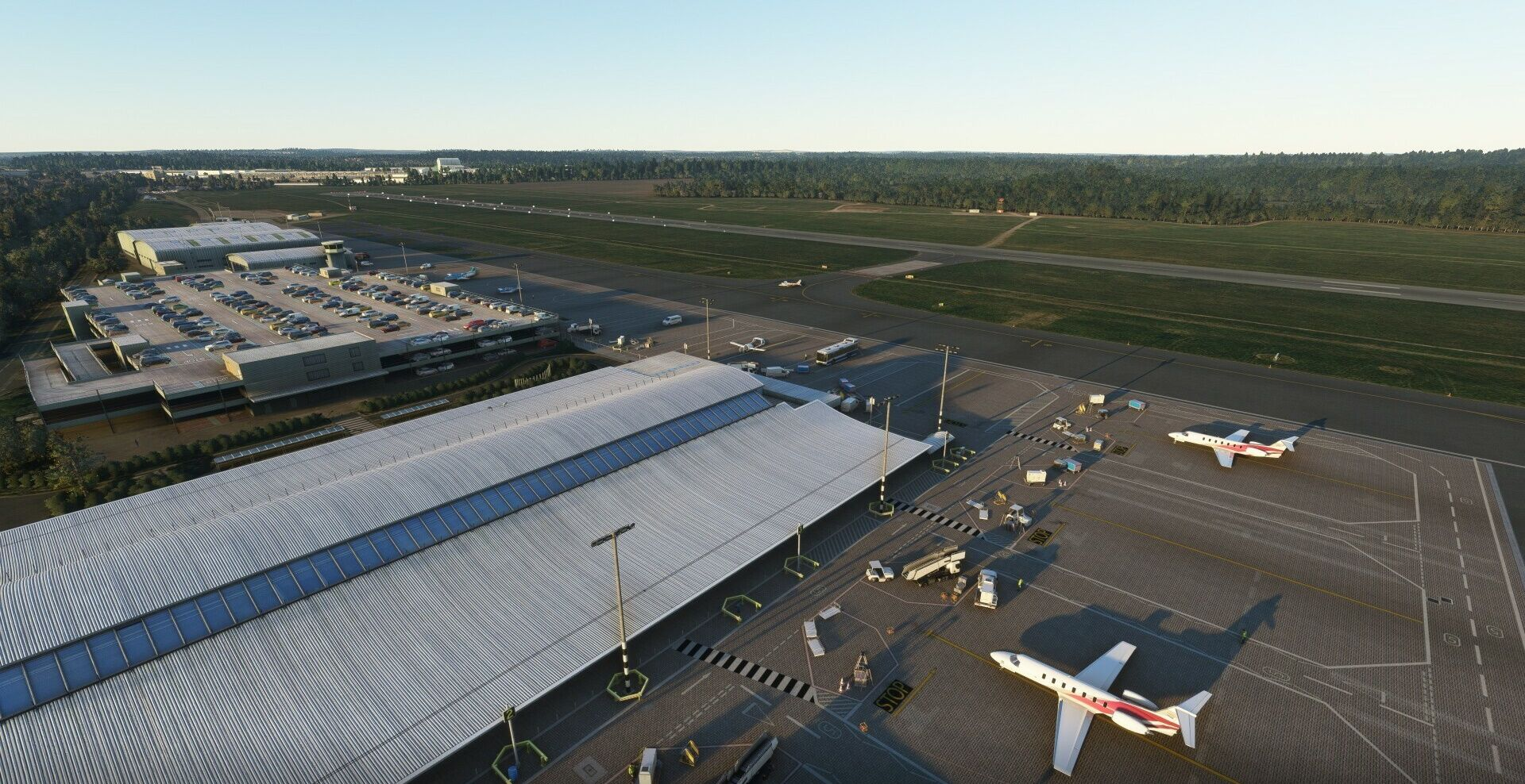 MSFS EGHI Southampton Airport