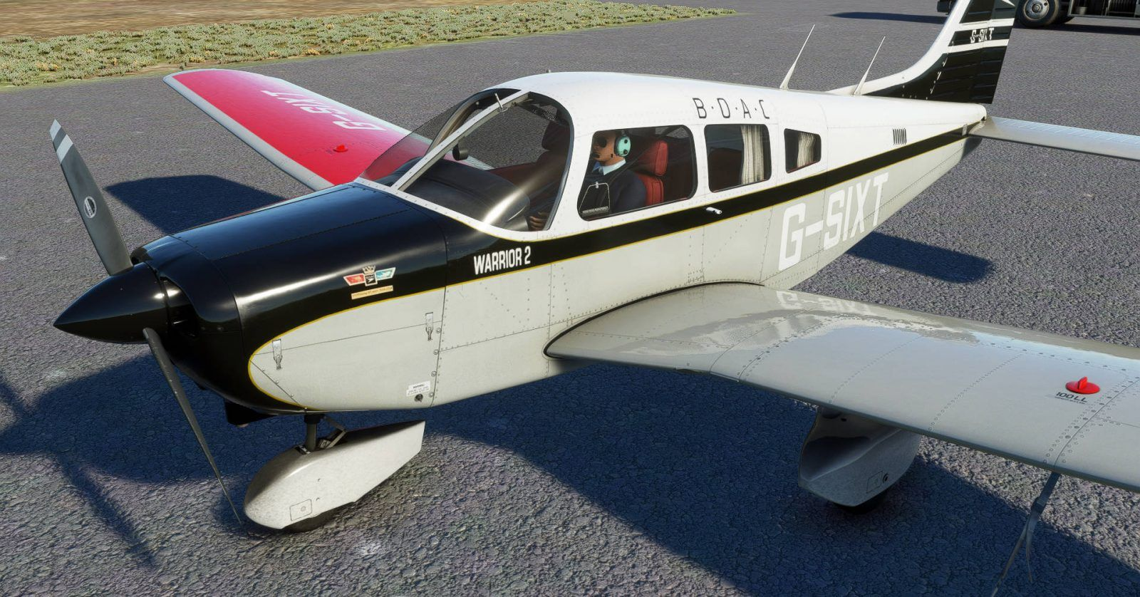 MSFS Piper PA-28-161 Warrior II